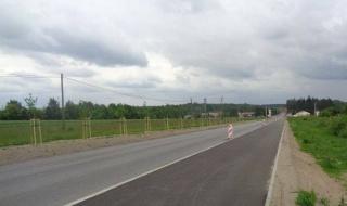 Zaawansowane prace przy rozbudowie drogi wojewódzkiej nr 485