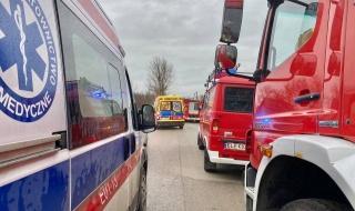 Śmiertelny wypadek na drodze Sulejów - Opoczno. Duże utrudnienia w ruchu
